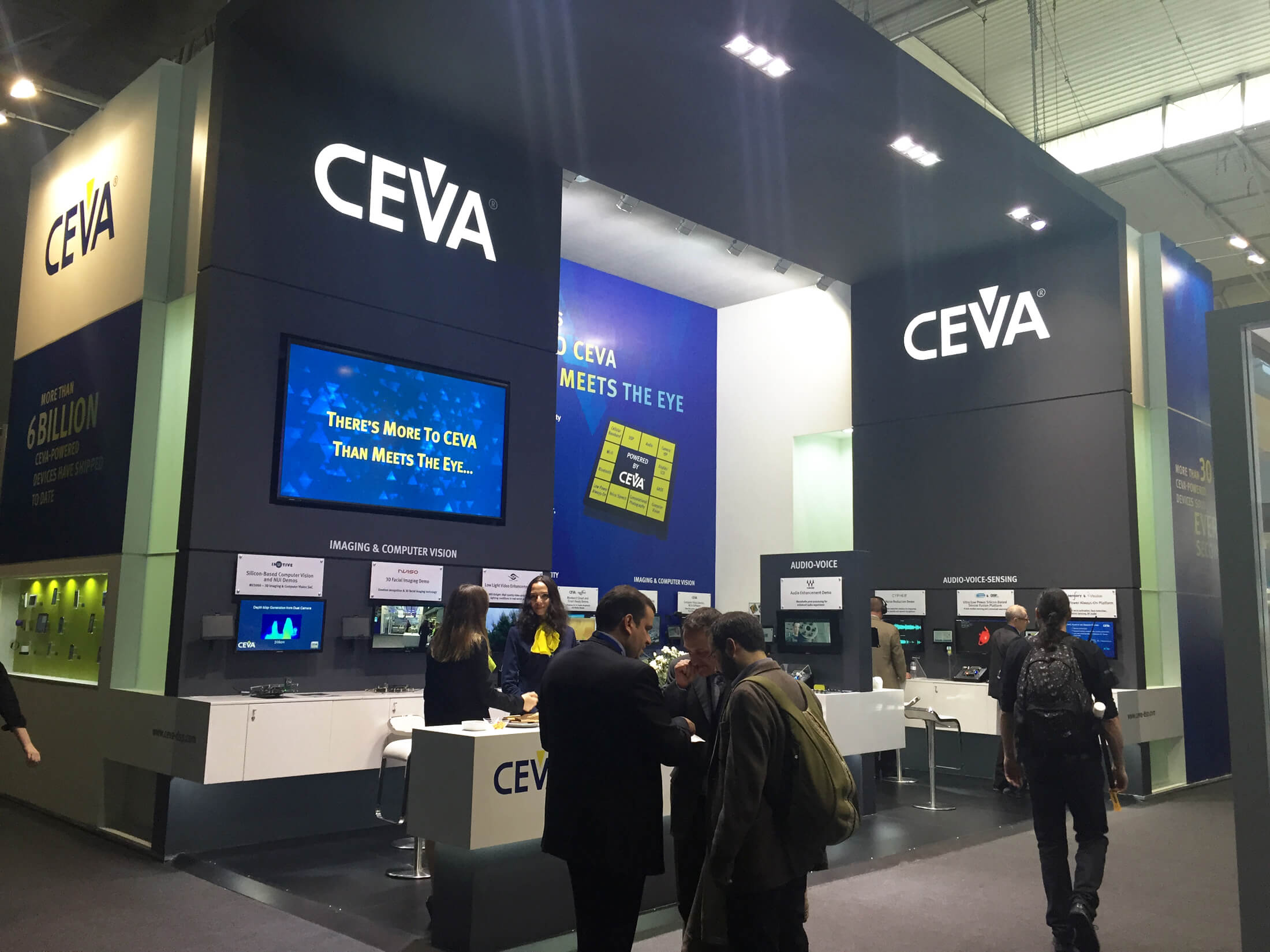 PPL Event Services Ltd Ceva Exhibition Stand