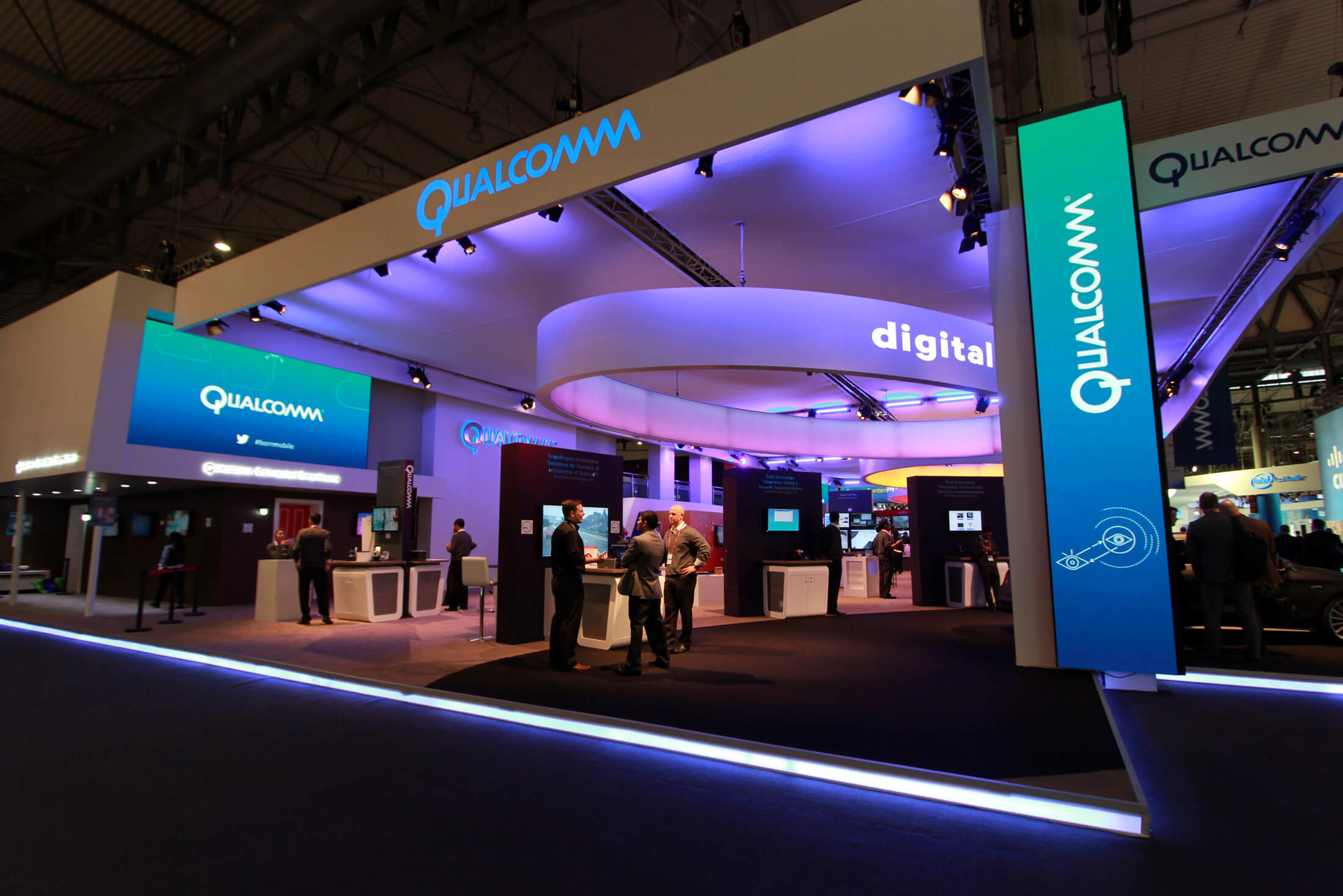 PPL Event Services Ltd Qualcomm Exhibition Stand